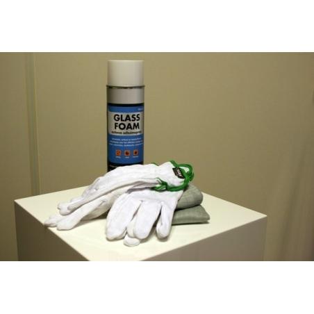 Reinigungspaket für Hauben und Sockel aus Plexiglas und Glas