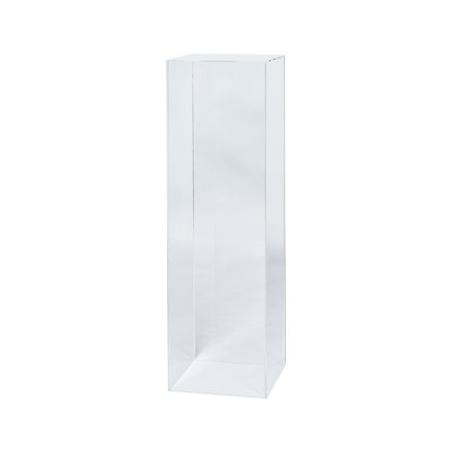 Sockel Plexiglas, 25 x 25 x 100 cm (LxBxH)
