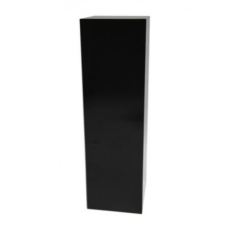 Galeriesockel schwarz Glanz, 40 x 40 x 100 cm (LxBxH)