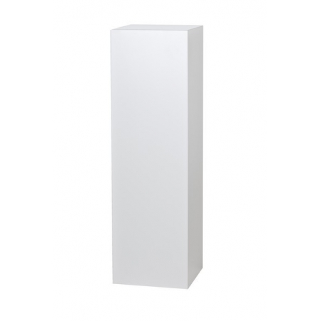 Galeriesockel weiß, 30 x 30 x 115 cm (LxBxH)