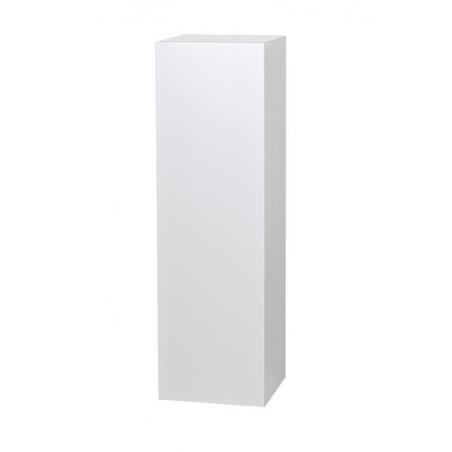 Galeriesockel matt-weiß, 40 x 40 x 115 cm (LxBxH)