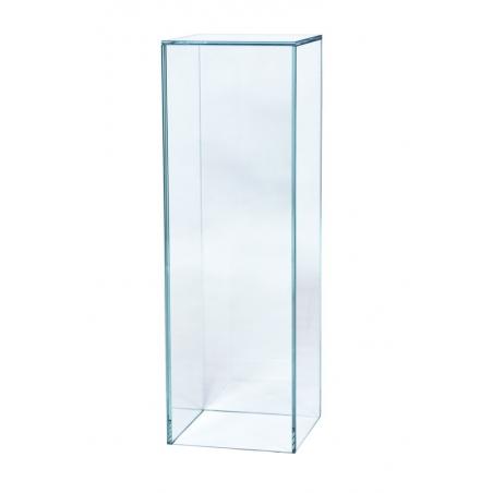 Sockel Glas, 20 x 20 x 100 cm (LxBxH)