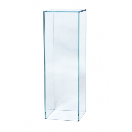 Sockel Glas, 25 x 25 x 100 cm (LxBxH)