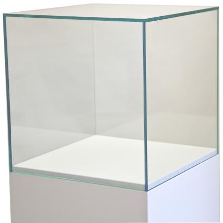 Schutzkappe aus Glas, 45 x 45 x 45 cm (LxBxH)