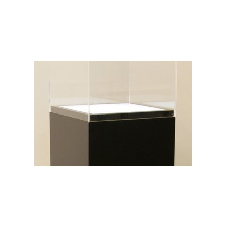 Lichtdurchlässige Acrylplatte (Sockel 45 x 45 cm)