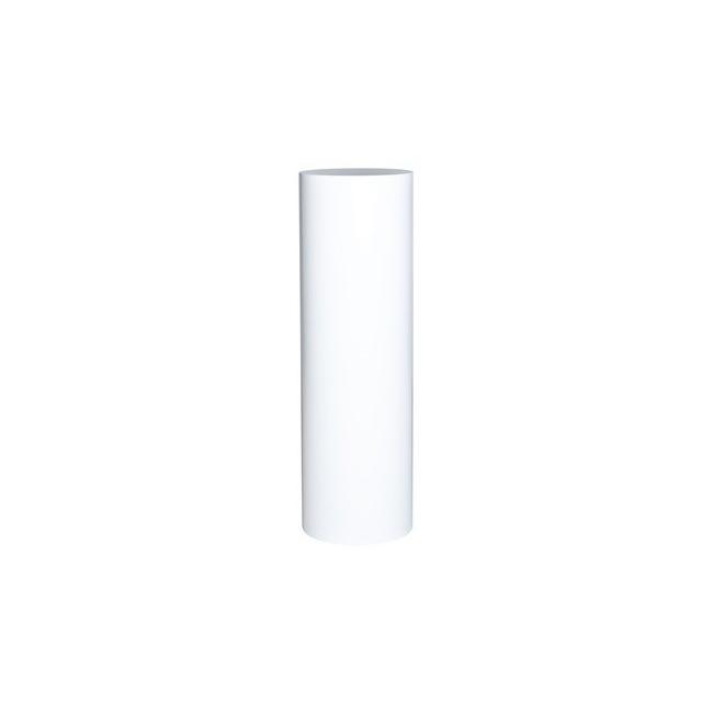 Runde Sockel weiß, 100 cm (H) 63 cm (Durchmesser)
