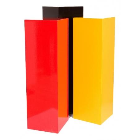 Galeriesockel in Farbe, 30 x 30 x 115 cm (LxBxH)