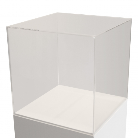 Schutzkappe aus Plexiglas, 40 x 40 x 40 cm (LxBxH)
