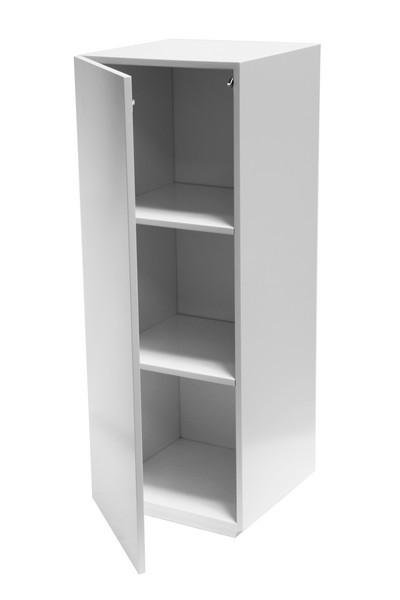 Galeriesockel weiß Glanz, mit Tür