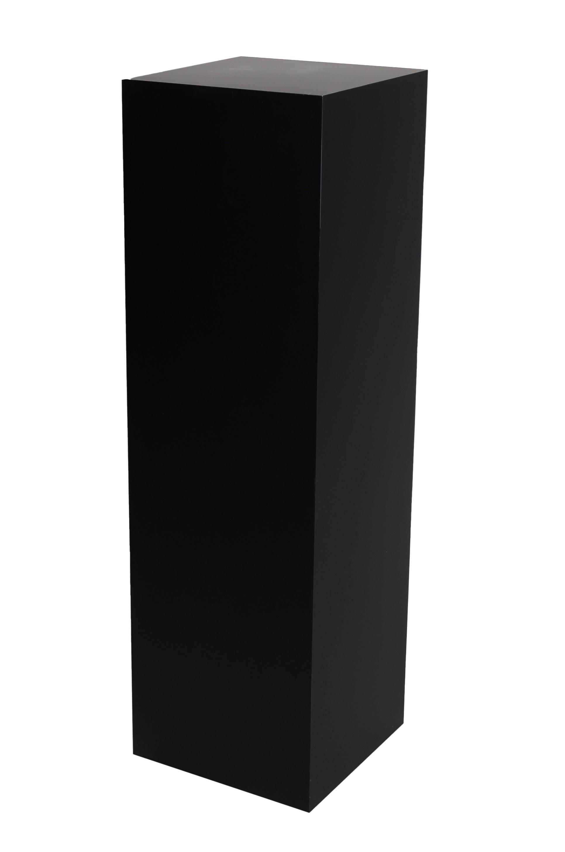 Galeriesockel schwarz matt
