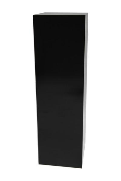Galeriesockel Hochglanz schwarz
