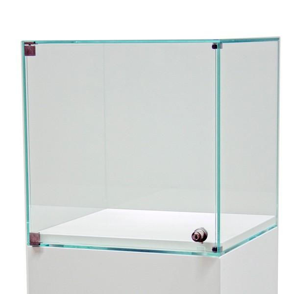 Glashaube mit tür
